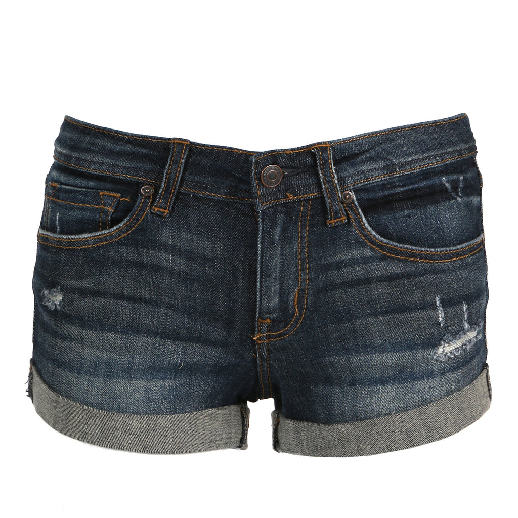 Roll Up Denim Shorts - 2020AVE