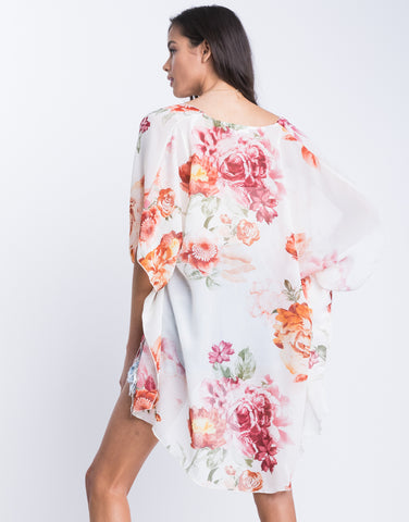In Full Bloom Sheer Cardigan
