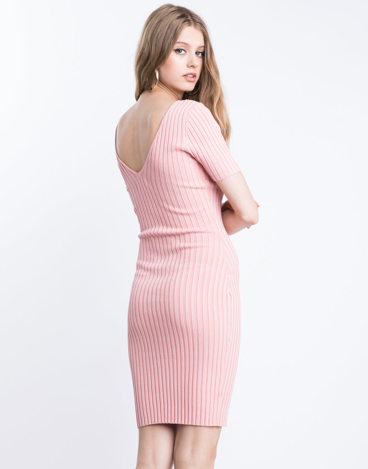 In Plain Sight Bodycon Dress
