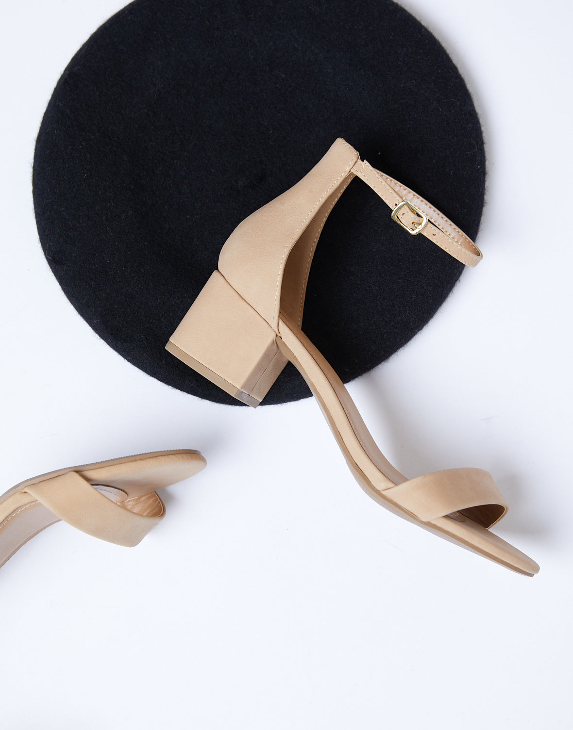In The City Block Heel Sandals