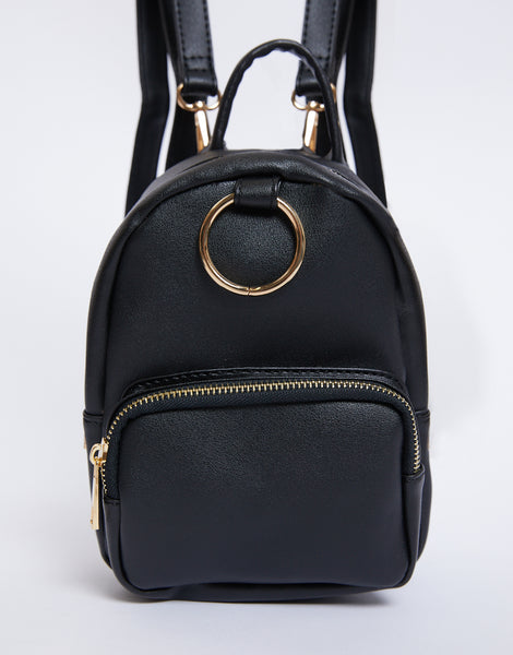 In The City Ring Mini Backpack by 2020 Ave