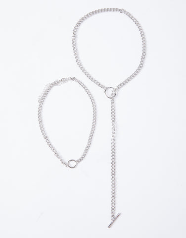 In The Loop Necklace Set