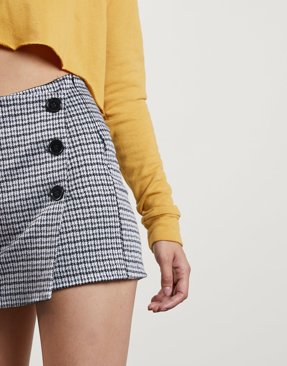 In With The New Plaid Skort
