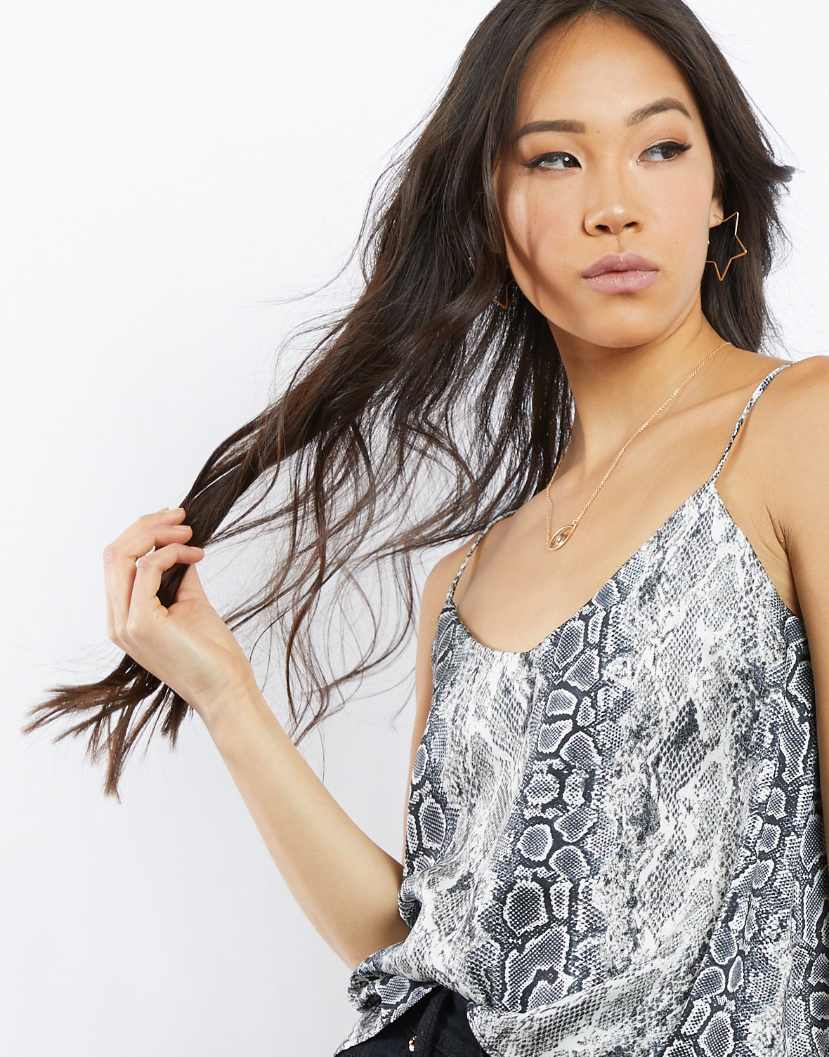 In the Wild Snakeskin Tank