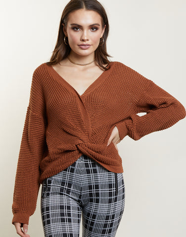 Infinite Wrap Sweater