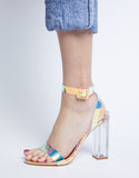 Iridescent Dreams Heels