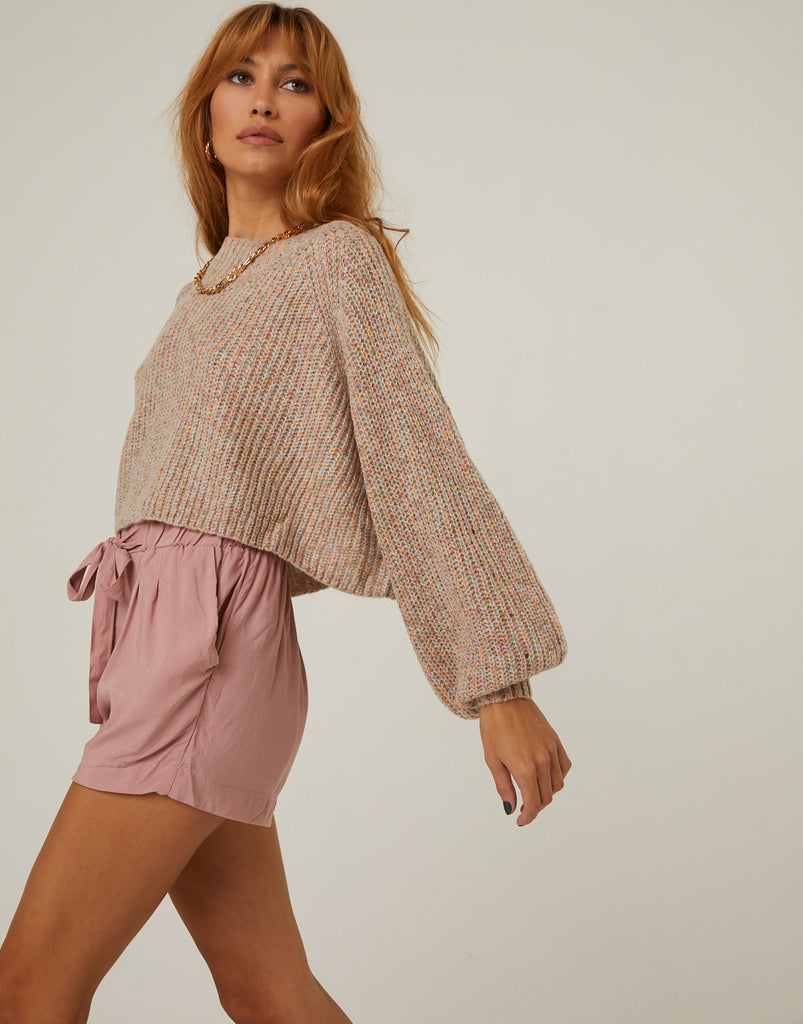 Flowy Lightweight Shorts Bottoms Blush Small -2020AVE