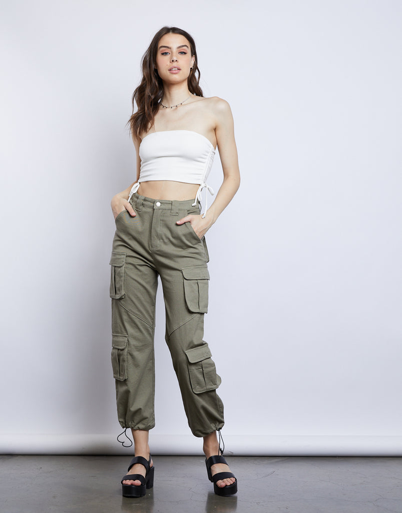 Kacey Cargo Pants Bottoms -2020AVE