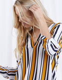 Kari Striped Top