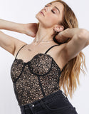 Keep My Secret Lace Bodysuit