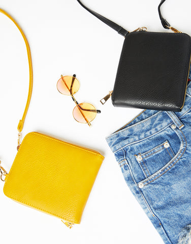 Vintage Vibes Rectangular Crossbody