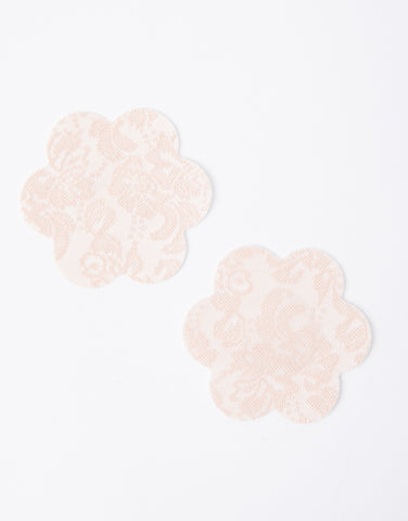 Lace Breast Petals