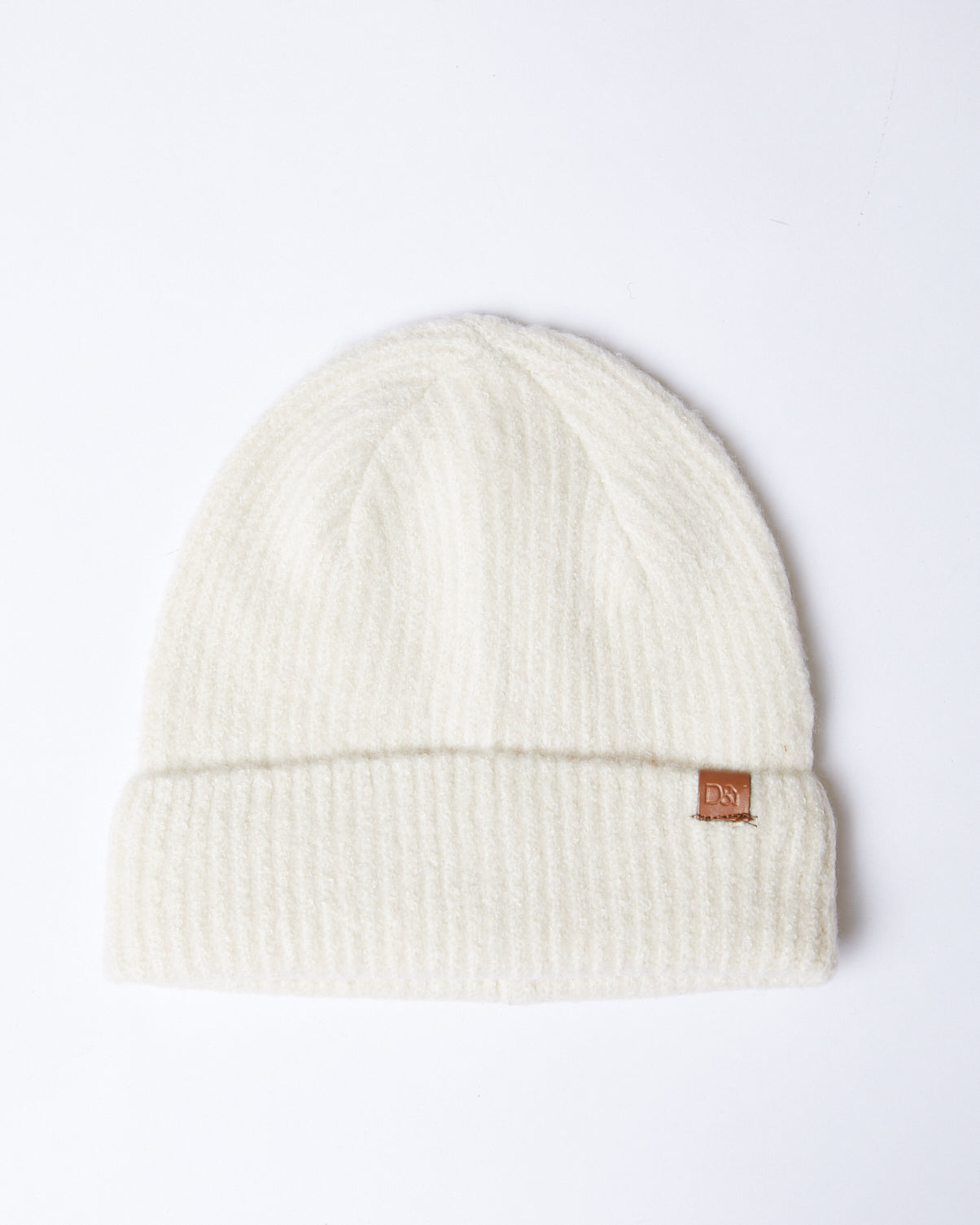 Laid-back Ribbed Beanie