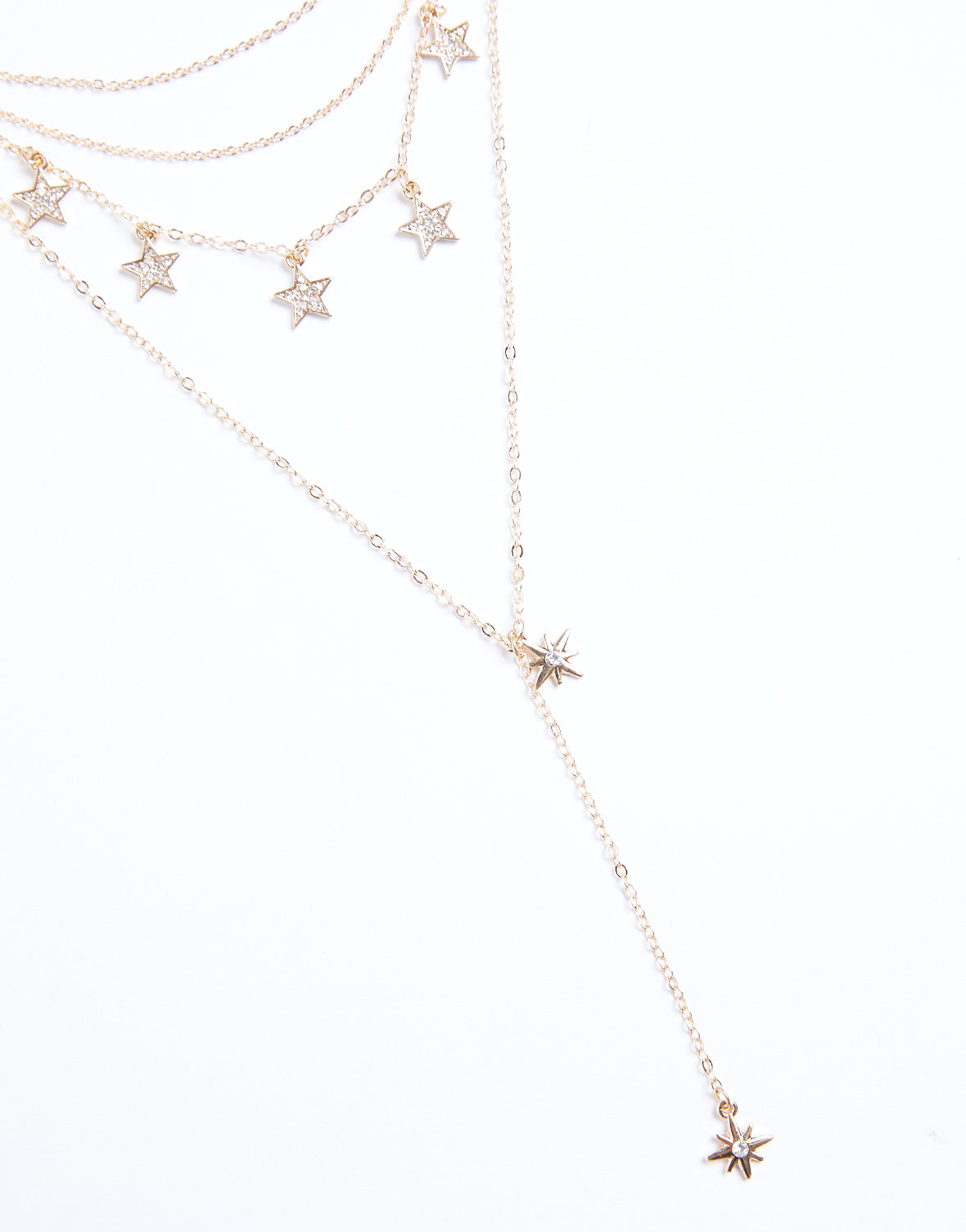 Layered Stars Necklace