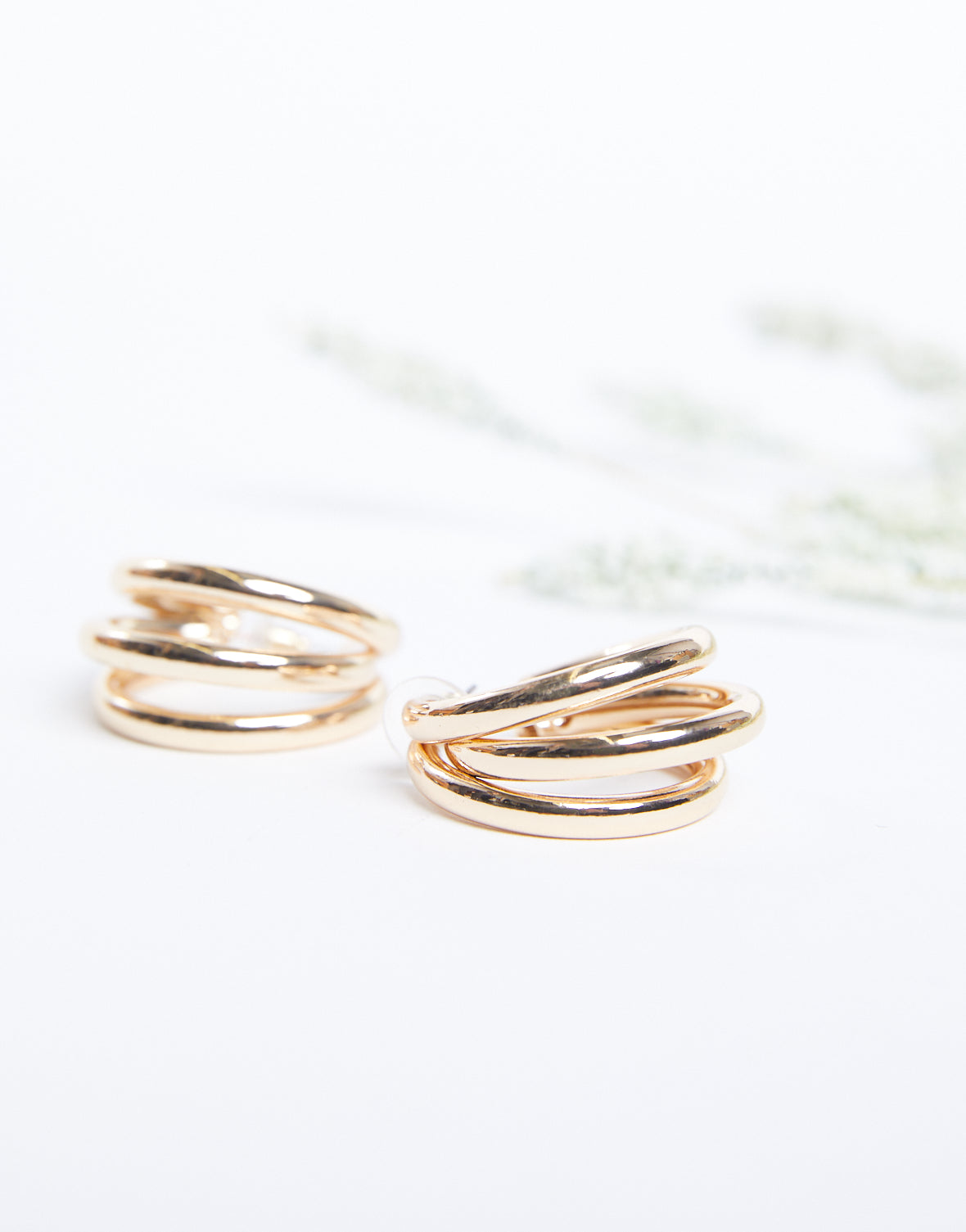 Layers On Layers Hoop Earrings