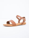 Leather Buckled Sandals