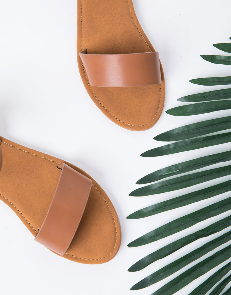 Leather Buckled Sandals Shoes -2020AVE