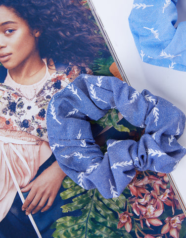 Leaves Scrunchie Set