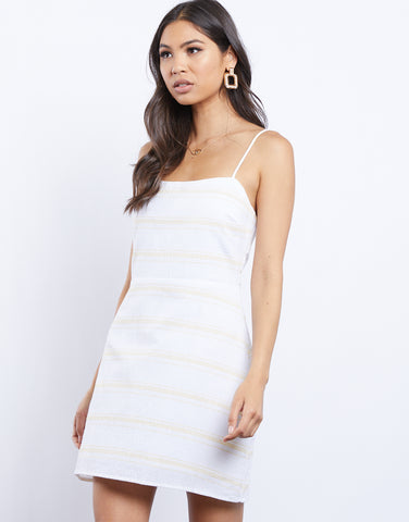 Leila Light Striped Dress