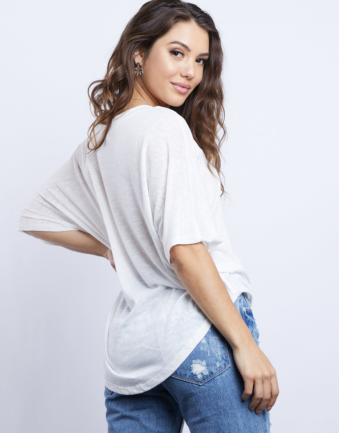 Light And Simple Basic Tee