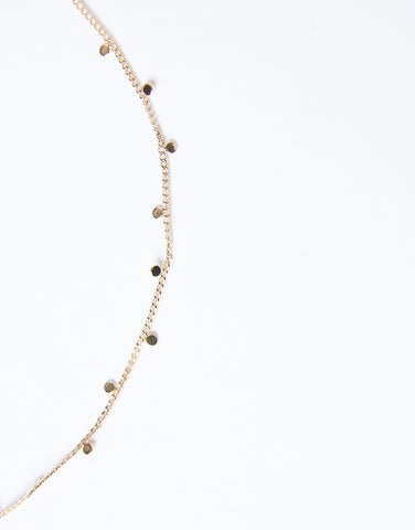 Light As Air Dainty Chain Necklace