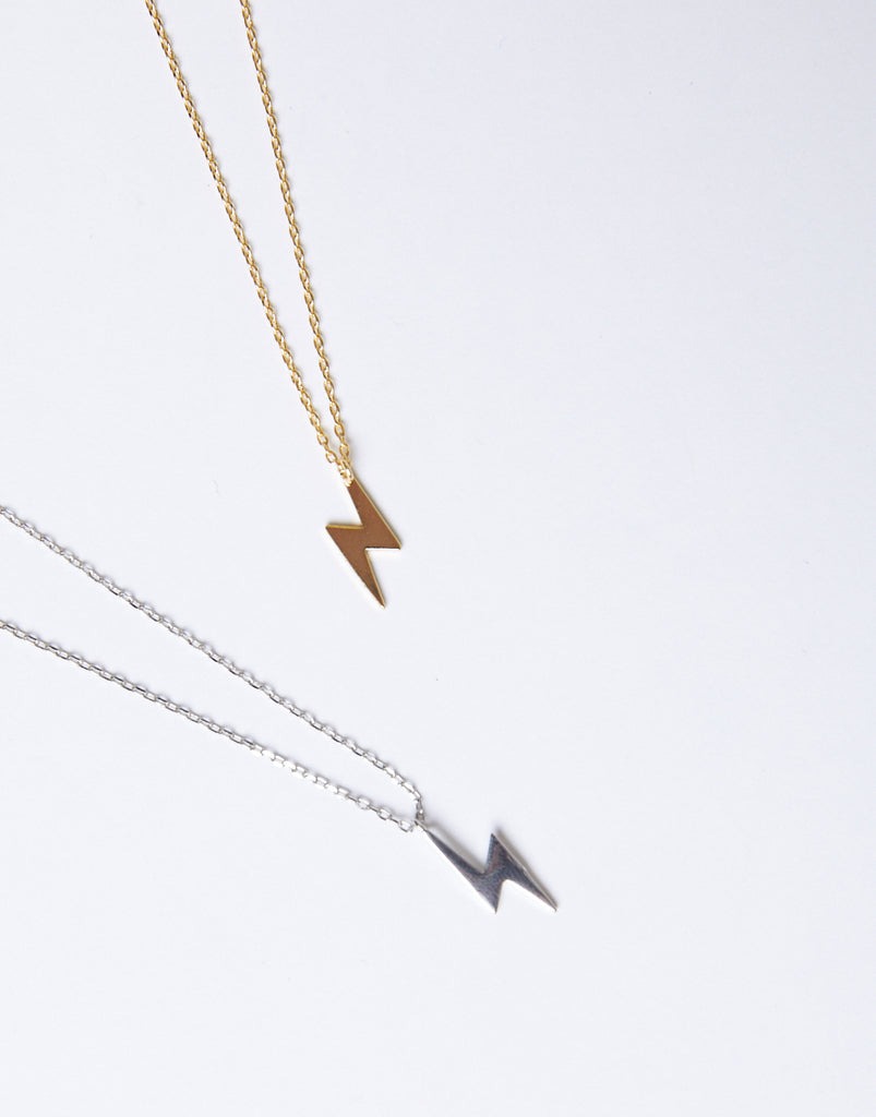 Lightning Bolt Necklace Jewelry -2020AVE