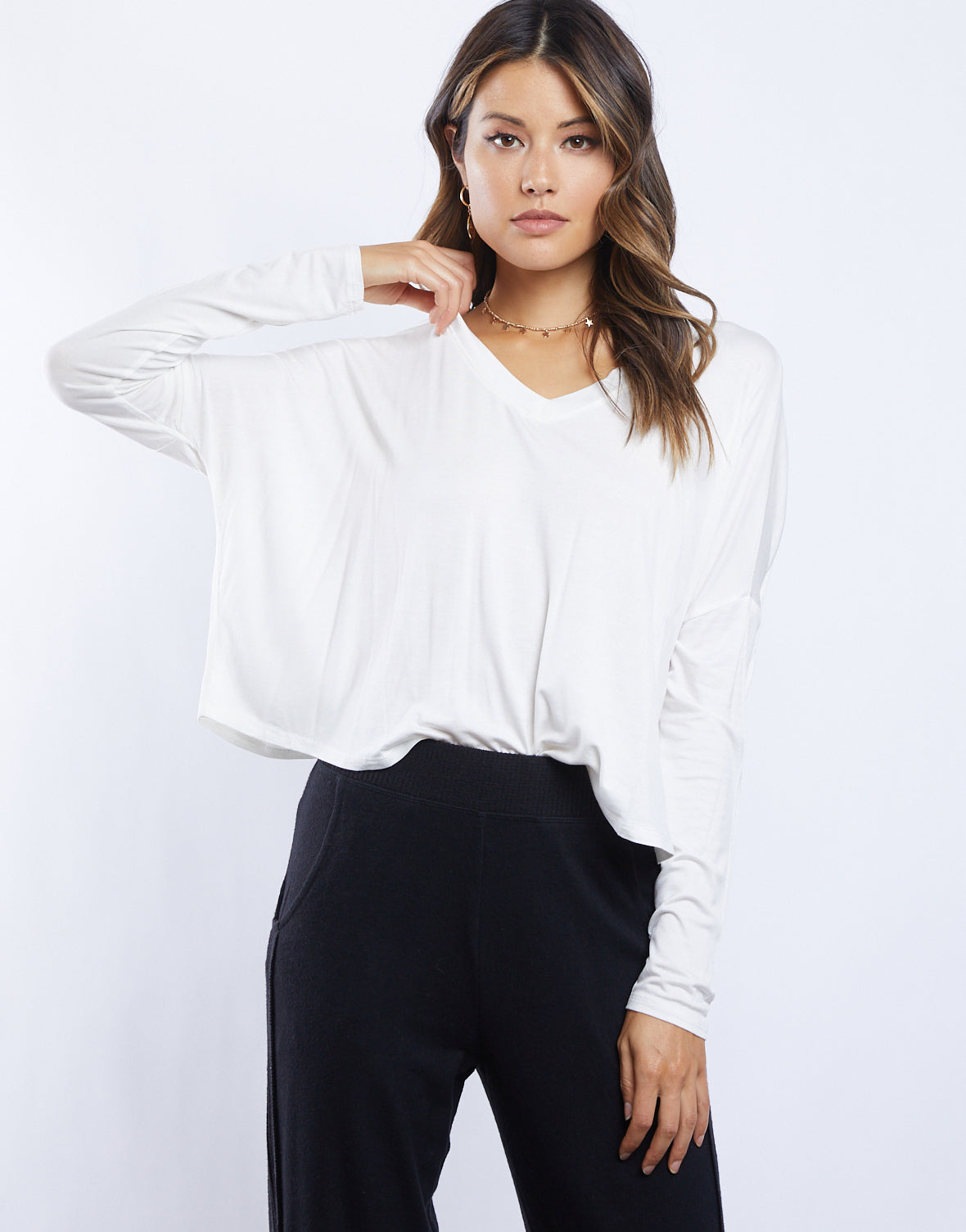 The Lightweight Kayla Long Sleeve Top