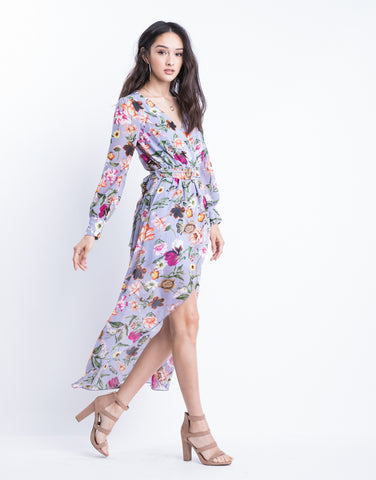 Lilac Blooms Dress
