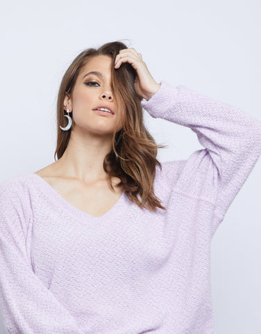 Lily Fuzzy Sweater