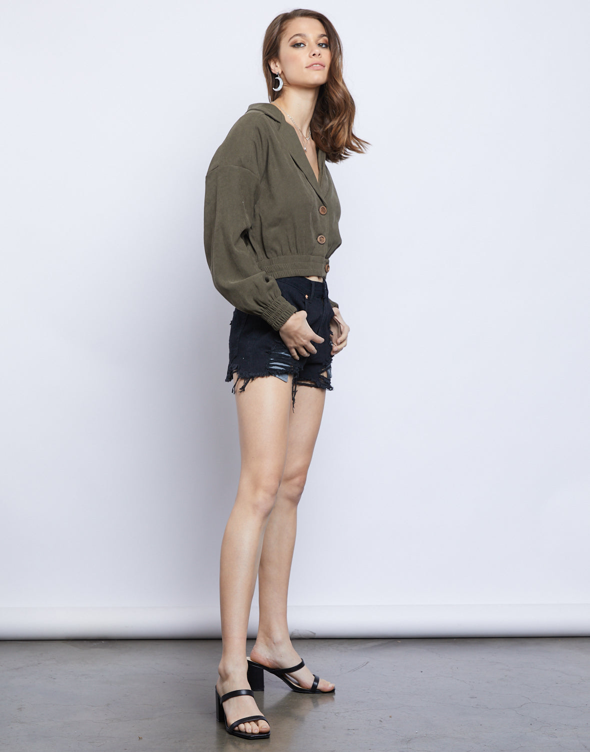 Madison Cropped Lightweight Jacket