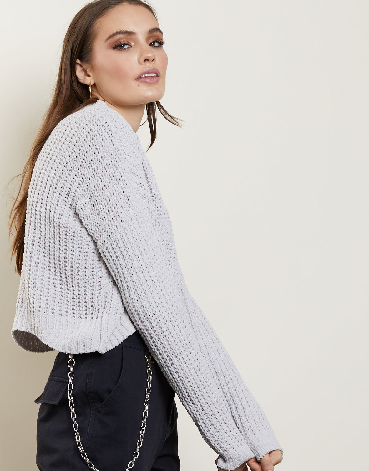 Making Waves Knit Sweater