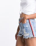 Memory Lane Denim Shorts