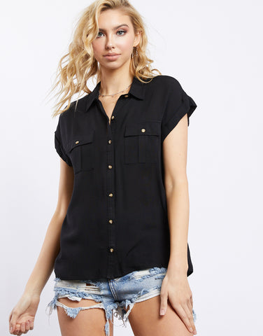 Midsummer's Night Button Up Shirt