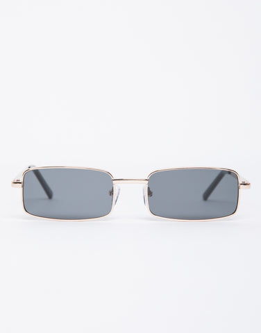 Mini Rectangular Sunglasses