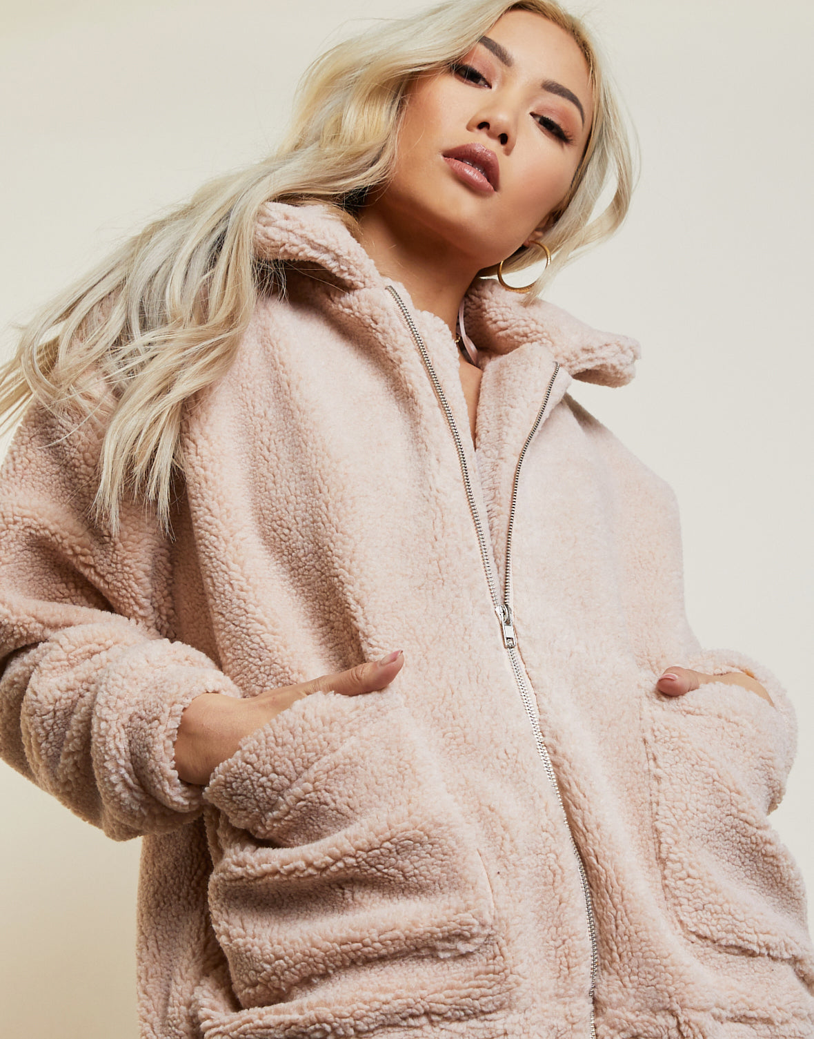 Must Have Oversized Sherpa Coat