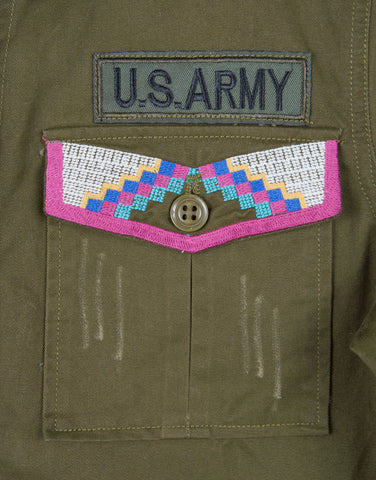 Run the Show Military Jacket