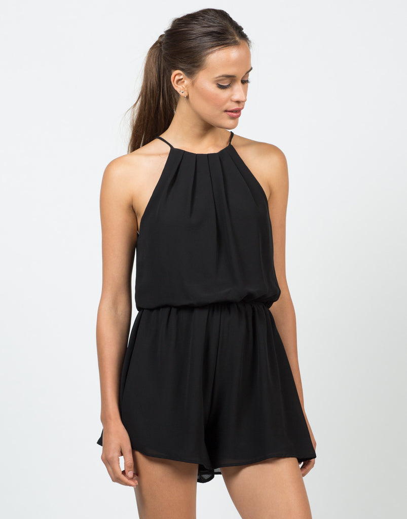 Gone With The Flow Romper - 2020AVE