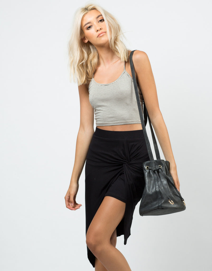 Front Knotted Skirt - 2020AVE