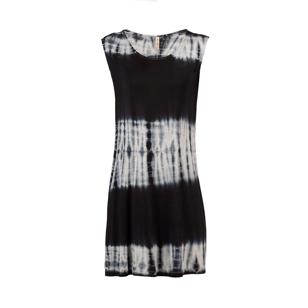 Sleeveless Jersey Tie-Dye Dress - 2020AVE