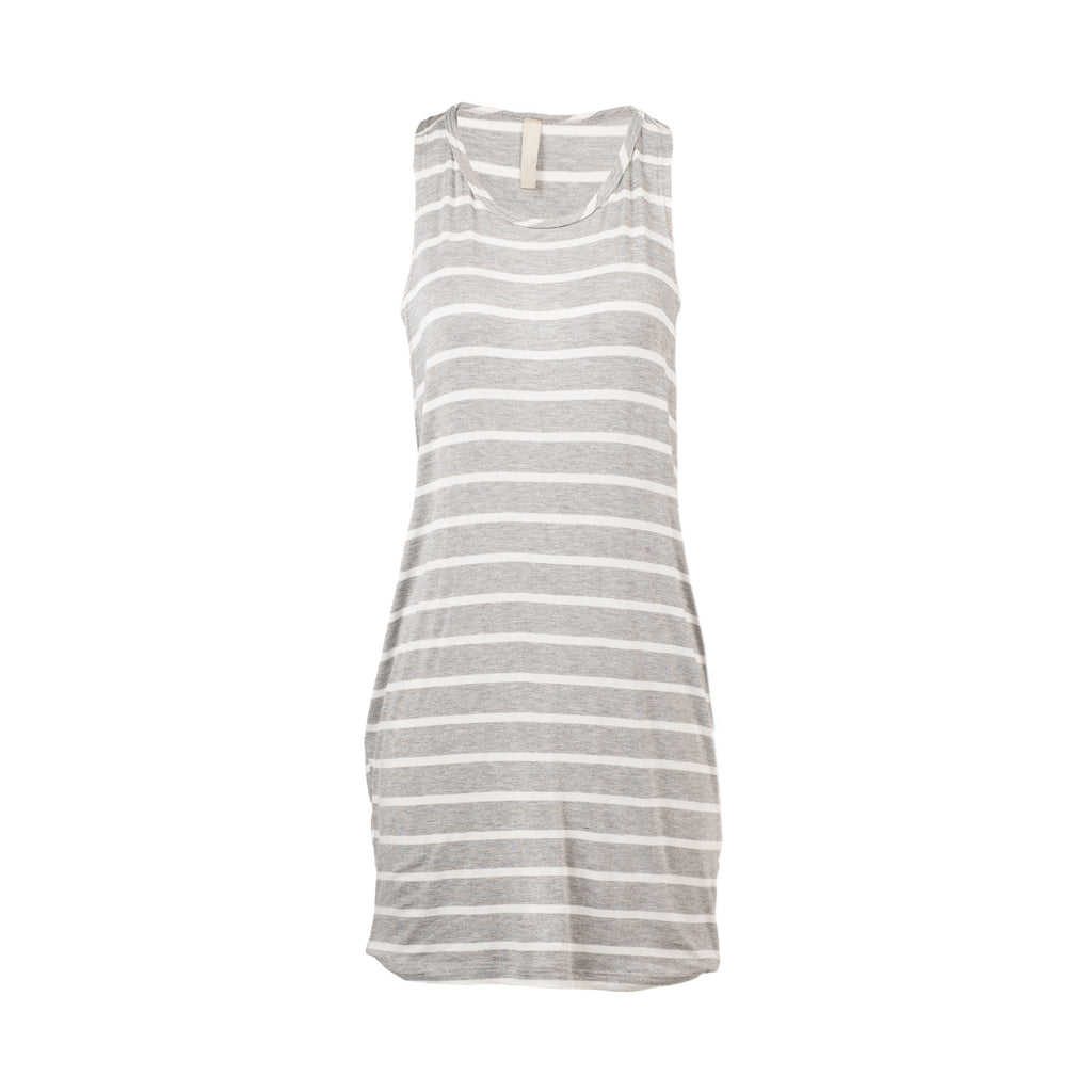 Striped Open Sides Dress - 2020AVE