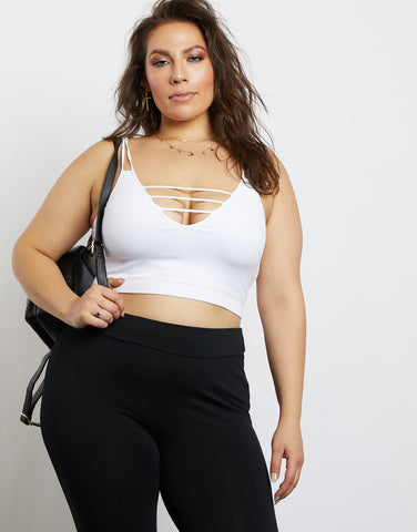 Plus Size Tara Cropped Tank