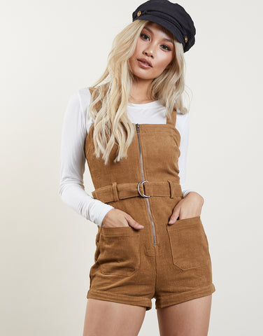 New Girl Corduroy Romper