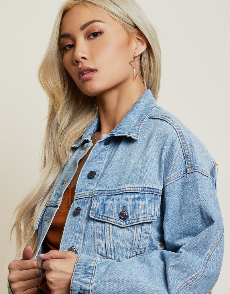 No BS Denim Jacket Outerwear -2020AVE