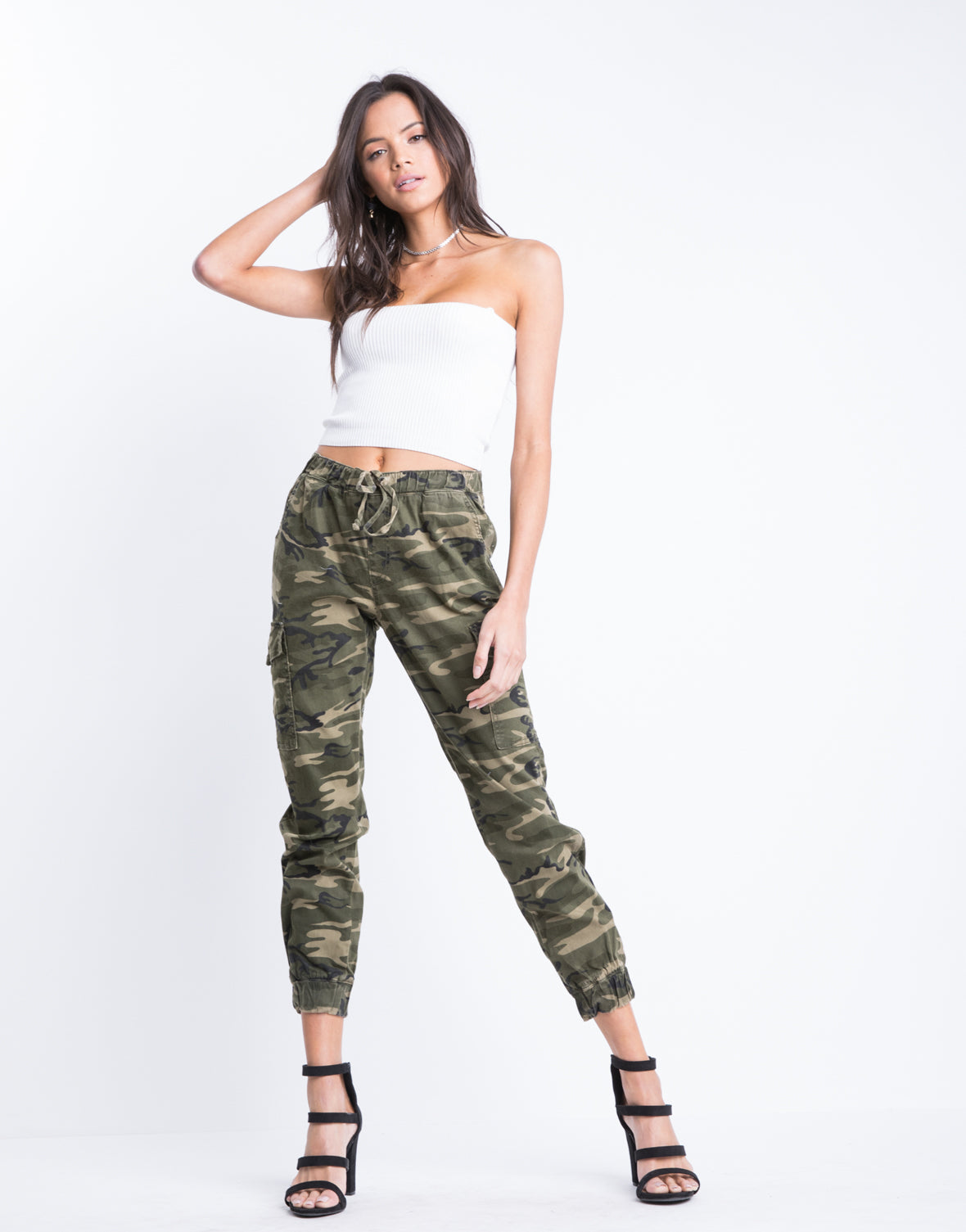 On The Frontlines Camo Pants