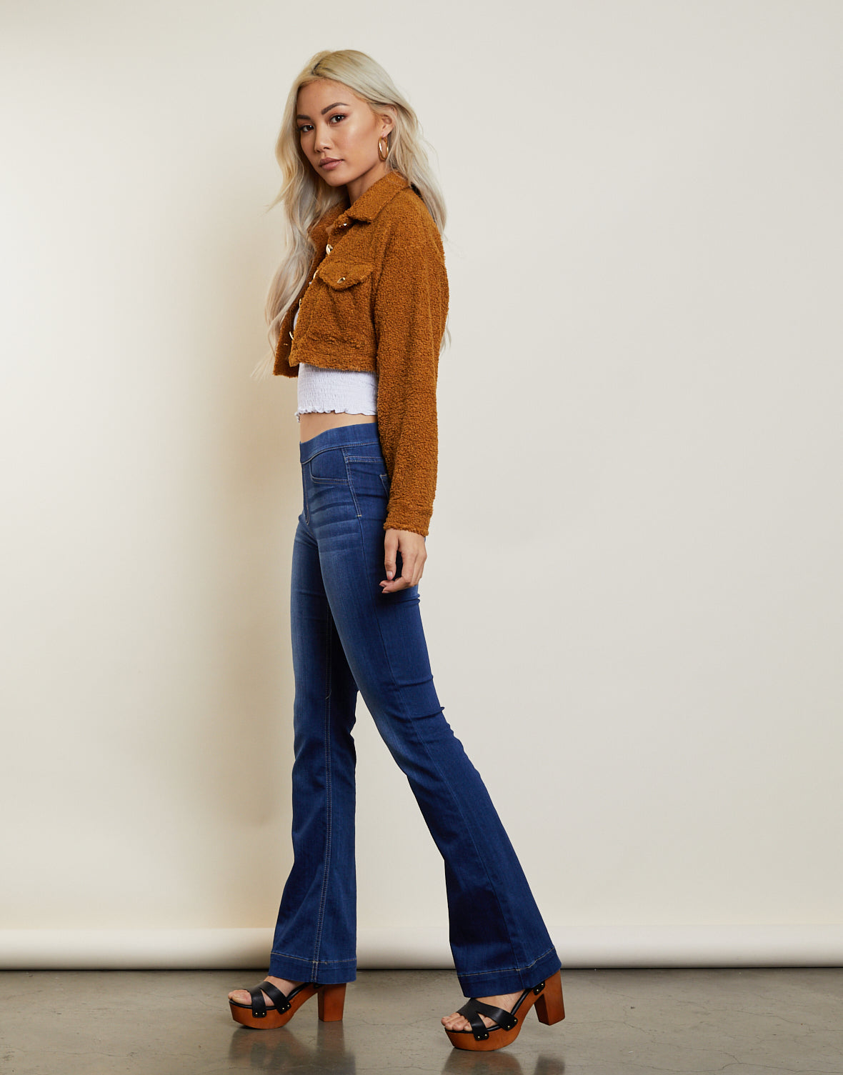 On Cloud 9 Cropped Jacket
