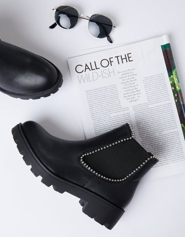 On Edge Chunky Chelsea Boots