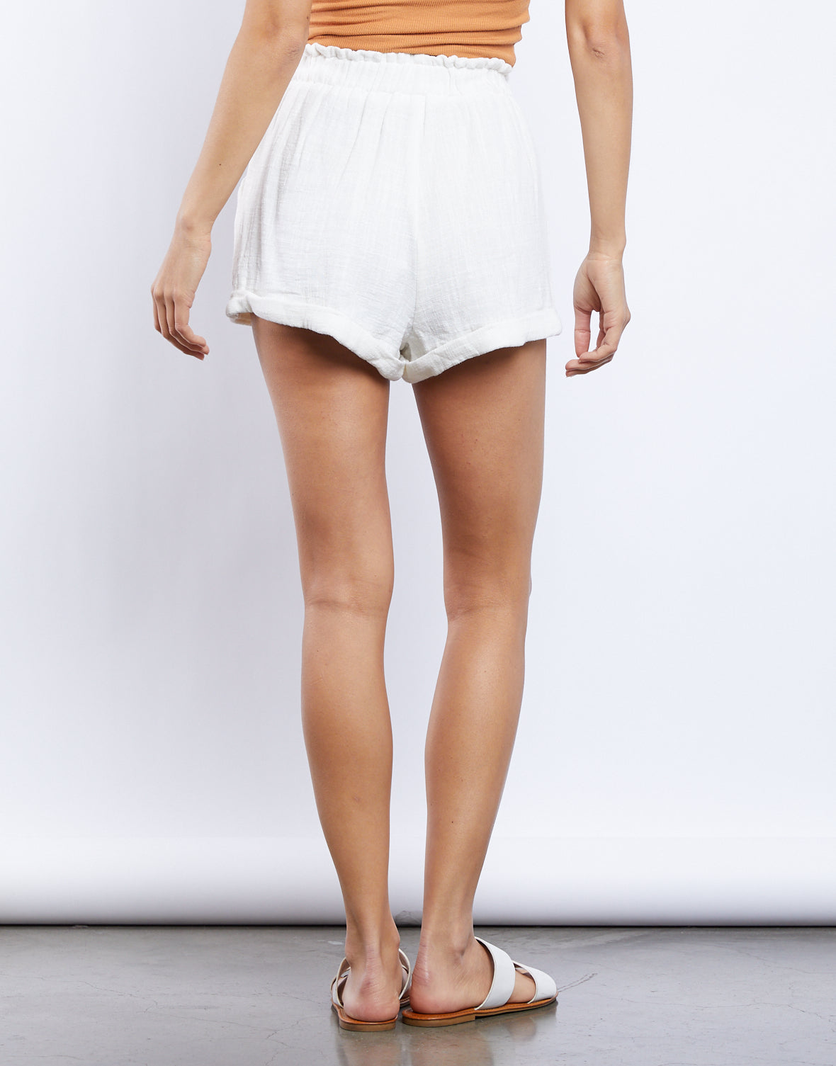 On The Cloud Paperbag Shorts