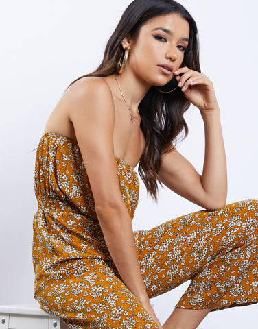 One Piece Wonder Floral Jumpsuit