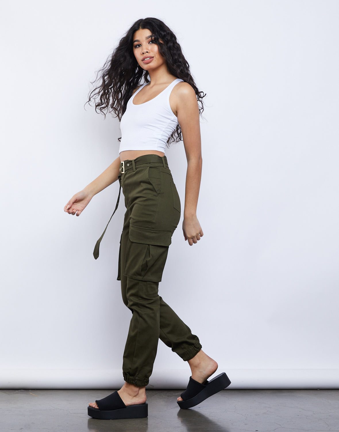 Over Easy Cropped Tank