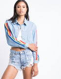 Over The Rainbow Denim Jacket